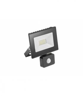 G-TECH Naświetlacz LED z czuj. ruchu, 20W, 1400lm, AC220-240V,50/60 Hz,PF0,9,IP65,120°,6400K,czarny