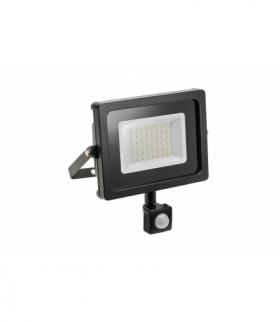 Naświetlacz LED iNEXT z czujnikiem ruchu, 20W, 1600lm, AC220-240V, 50/60 Hz, PF0,9, RA80, IP65, 12