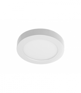 Oprawa LED BOLERO, 18W, 1600lm, AC175-250V, 50/60 Hz, PF0,5, RA80, IP40, kąt świecenia 120°, 6 w 1