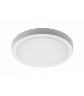 Plafoniera MOON LED, 12W, 1200lm, AC180-265V, 50/60 Hz, PF0,5, Ra80, IP54,IK08,120°,4000K,okrągła