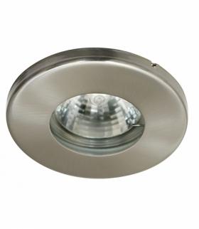 SH-06-SN MR16 SATYNA NIKIELoczko sufitowe lampa sufitowa HERMETYCZNA IP65 odporna na wilgoć