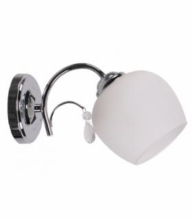 ZACHERA LAMPA KINKIET 1X40W E27 BIAŁY
