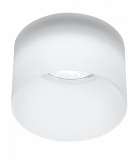 LAMPA SUFITOWA TUBA 1X50W GU10 MROŻONY ŚR. 7,8 CM