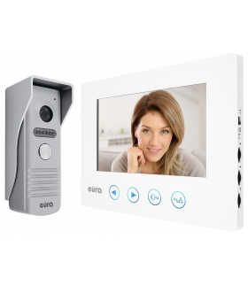 WIDEODOMOFON biały, ekran 7'', otwieranie 2 wejść, pamięć obrazów VDP-35A3 ''SIGMA''