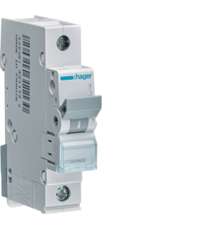 MBN120E MCB Wyłącznik nadprądowy Icn 6000A 1P B 20A Hager