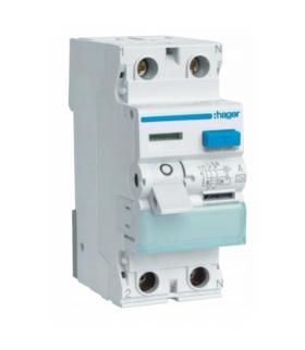 CDA225J RCCB Wyłącznik różnicowoprądowy 1P+N 25A 30mA 6kA A Hager