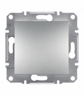Asfora Łącznik 1-biegunowy bez ramki (zaciski śrubowe) aluminium Schneider EPH0100361
