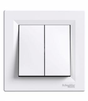 Asfora Łącznik świecznikowy (zaciski śrubowe) biały Schneider EPH0300321