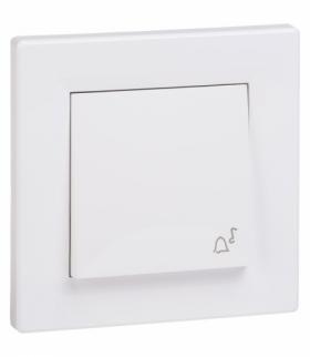 Asfora Przycisk dzwonek IP44 biały Schneider EPH0800221
