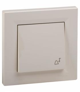 Asfora Przycisk dzwonek IP44 krem Schneider EPH0800223