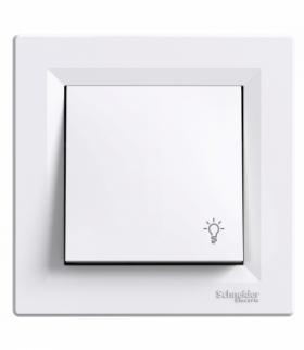 Asfora Przycisk światło biały Schneider EPH0900121