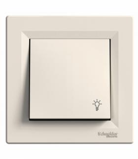 Asfora Przycisk światło krem Schneider EPH0900123