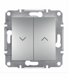 Asfora Łącznik żaluzjowy bez ramki aluminium Schneider EPH1300561