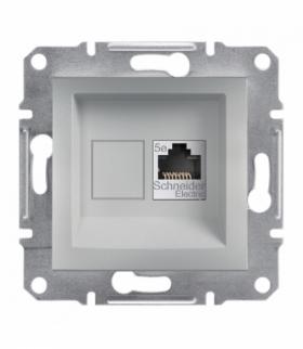 Asfora Zaślepka bez ramki aluminium Schneider EPH5600161