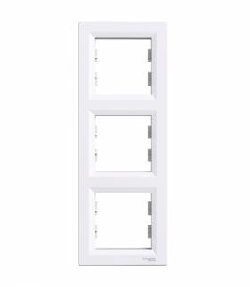 Asfora Ramka 3-krotna pionowa biały Schneider EPH5810321