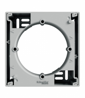 Asfora Podstawa naścienna aluminium Schneider EPH6100161