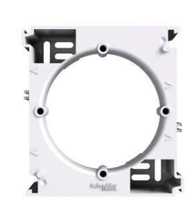 Asfora Podstawa naścienna rozszerzająca biały Schneider EPH6100221