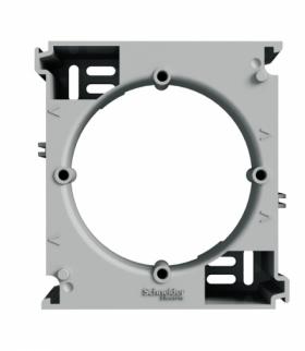 Asfora Podstawa naścienna rozszerzająca aluminium Schneider EPH6100261