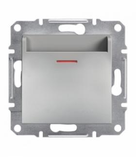 Asfora Łącznik hotelowy (mechaniczny) bez ramki aluminium Schneider EPH6200161