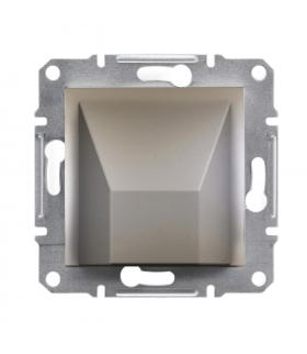 Asfora Wypust kablowy bez ramki, brąz Schneider EPH5500169