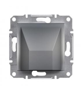 Asfora Wypust kablowy bez ramki, stal Schneider EPH5500162