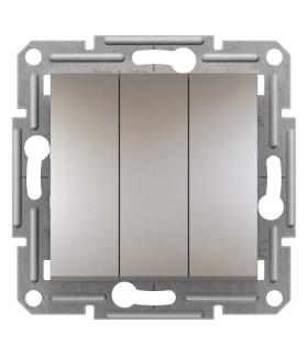 Asfora Łącznik potrójny (zaciski śrubowe) bez r., brąz Schneider EPH2100169