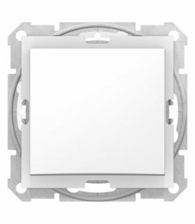 Sedna Łącznik 1-biegunowy IP44 biały Schneider SDN0100321