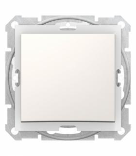 Sedna Łącznik 1-biegunowy IP44 krem Schneider SDN0100323