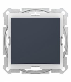 Sedna Łącznik 1-biegunowy IP44 grafit Schneider SDN0100370