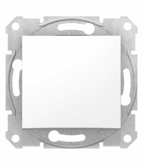 Sedna Łącznik 1-bieg. bez ramki(blister),biały Schneider SDN0190221
