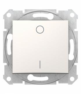 Sedna Łącznik 2-biegunowy kremowy Schneider SDN0200123