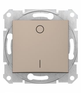 Sedna Łącznik 2-biegunowy satyna Schneider SDN0200168