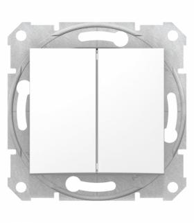 Sedna Łącznik podwójny schodowy biały Schneider SDN0600121