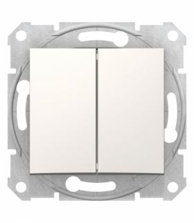 Sedna Łącznik podwójny schodowy krem Schneider SDN0600123