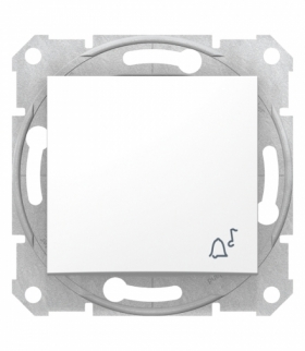 Sedna Przycisk dzwonek biały Schneider SDN0800121