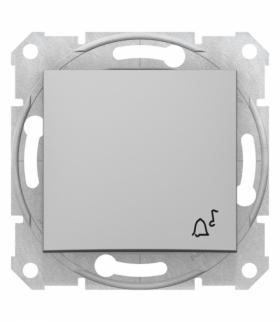 Sedna Przycisk dzwonek aluminium Schneider SDN0800160