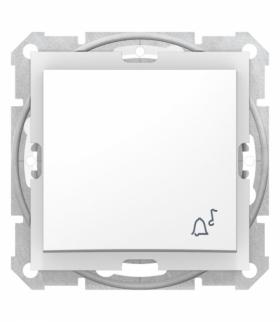Sedna Przycisk dzwonek IP44 biały Schneider SDN0800321
