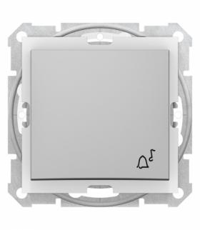 Sedna Przycisk dzwonek IP44 aluminium Schneider SDN0800360