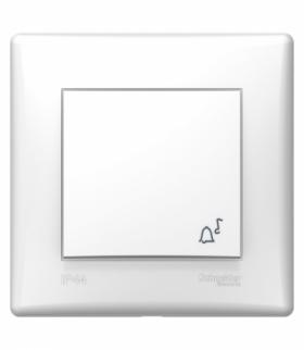 Sedna Przycisk dzwonek (DIY) IP44 biały Schneider SDN0890321