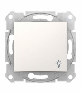 Sedna Przycisk światło krem Schneider SDN0900123