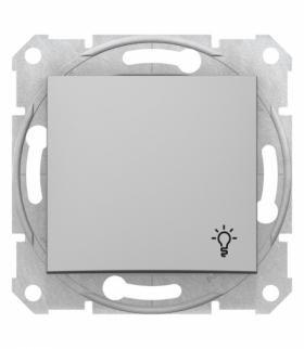Sedna Przycisk światło aluminium Schneider SDN0900160