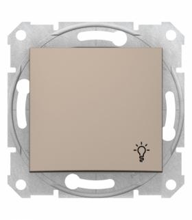Sedna Przycisk światło satyna Schneider SDN0900168