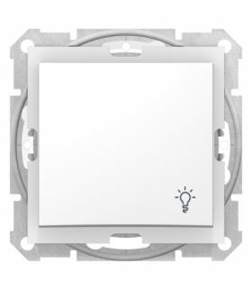 Sedna Przycisk światło IP44 biały Schneider SDN0900321
