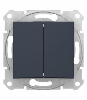 Sedna Przycisk podwójny, grafit Schneider SDN1100170