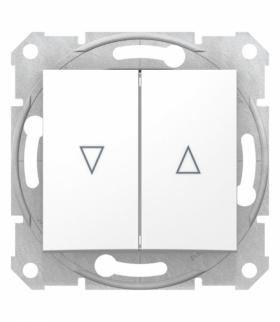 Sedna Przycisk żaluzjowy biały Schneider SDN1300121
