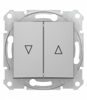 Sedna Przycisk żaluzjowy aluminium Schneider SDN1300160