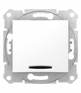 Sedna Łącznik schodowy z podświetleniem biały Schneider SDN1500121