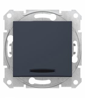 Sedna Przycisk z podświetleniem grafit Schneider SDN1600170