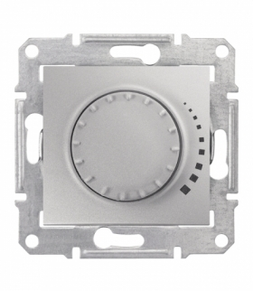 Sedna Ściemniacz obrotowy RL 60-500VA aluminium Schneider SDN2200460