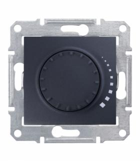 Sedna Ściemniacz obrotowy RL 60-500VA grafit Schneider SDN2200470
